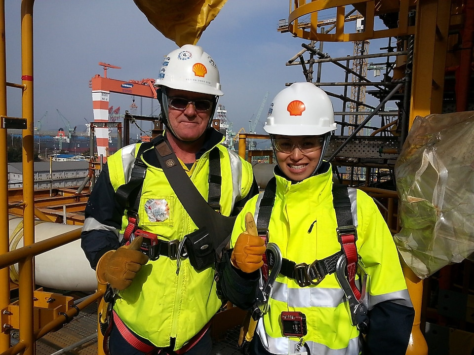 Photo of Michelle Taye an Australian Process Engineer
