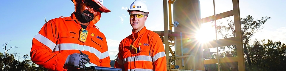 QGC Wellsite operators tablet well performance