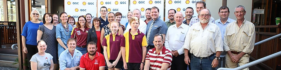 QGC community fund team