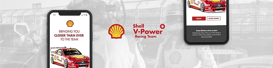 About the Shell V-Power Racing Team App