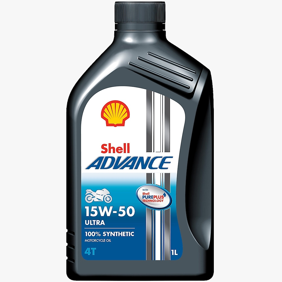 Packshot of Shell Advance 4T Ultra 15W-50