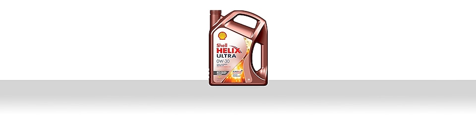 Shell Helix Emissions Compatibility Technology oil range