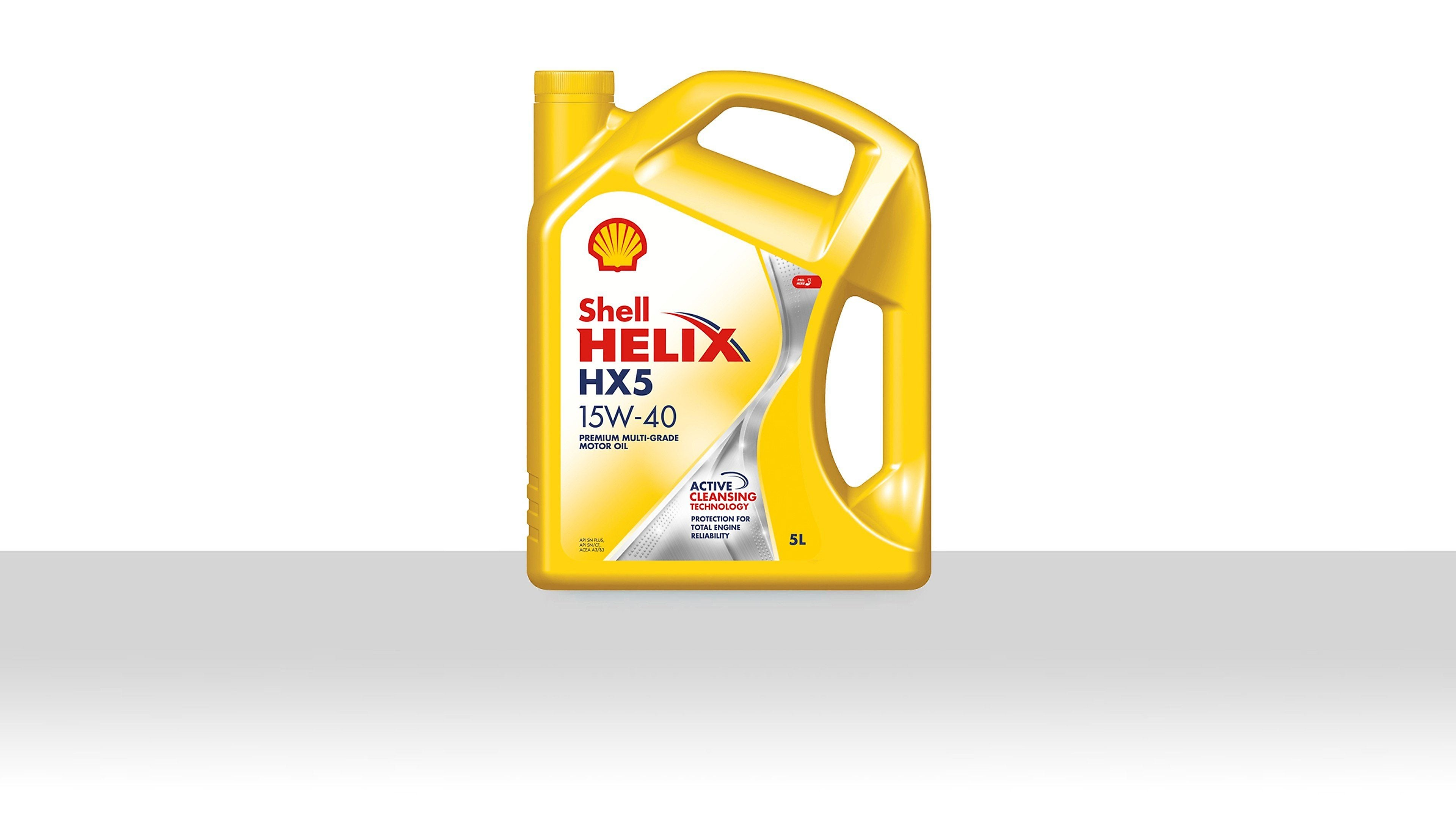 Shell Helix Mineral Motor Oils