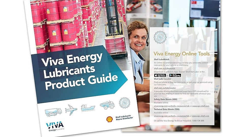 Viva Energy Lubricants Product Guide