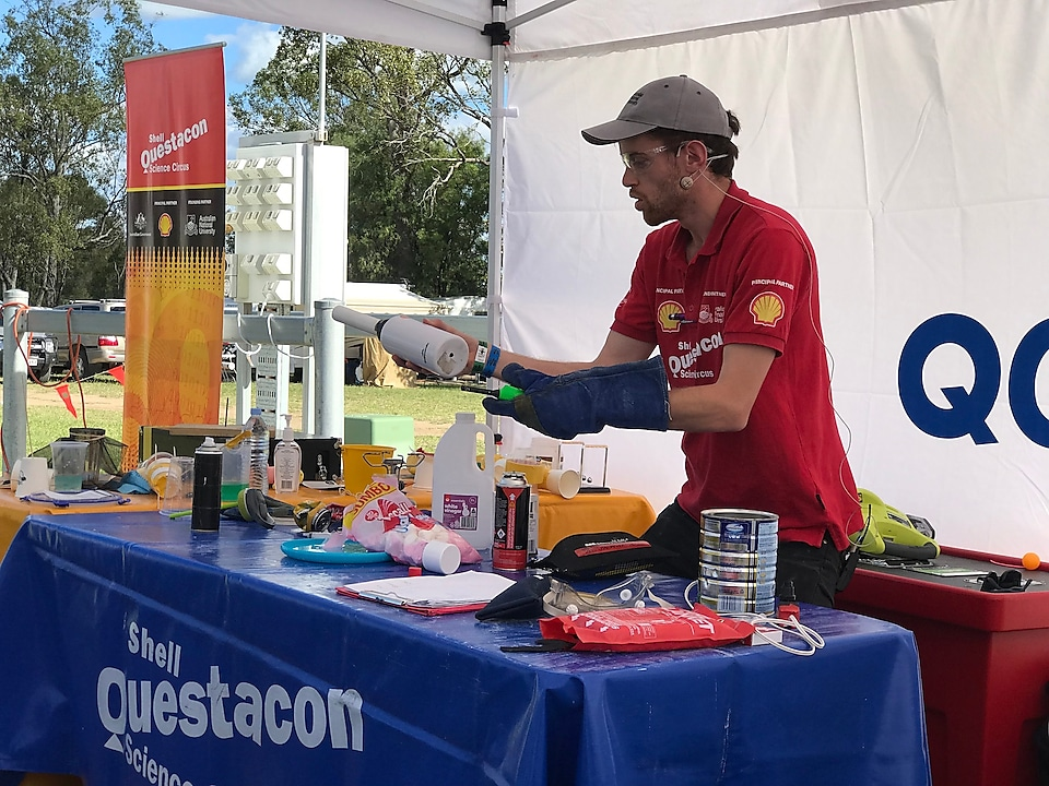 Questacon and Wandoan Show